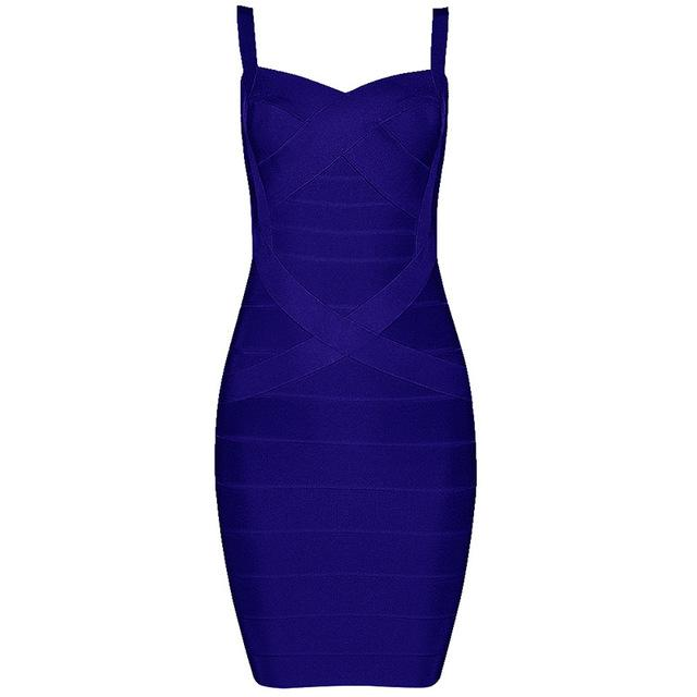 Bandage Dress Sexy Mini Spaghetti Strap Bodycon Strapless Club Party Summer Lady Dresses-Dress-SheSimplyShops