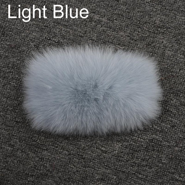 Jancoco Max High Quality Real Fox Fur Vests Women Gilets Women Thick Warm Winter Fur Coats S7251