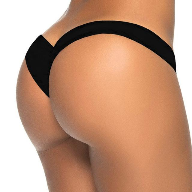 Sexy tiny bikini bottom female swimwear women G-string Briefs micro mini Thong Panties Underwear-PANTS-SheSimplyShops