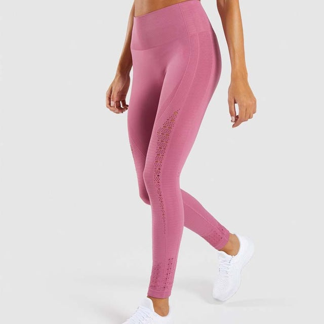 Women Color Energy Seamless Leggings Sports Wear for Women Gym Yoga Pants
