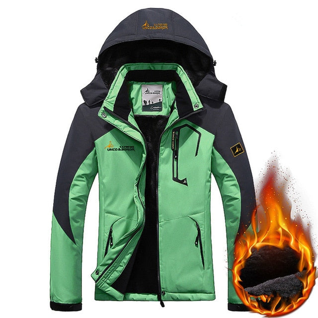 Women's Winter Inner Fleece Jacket Women Outwear Sportswear Warm Coats Down Parkas Waterproof Windbreaker Thermal Jackets M 3XL