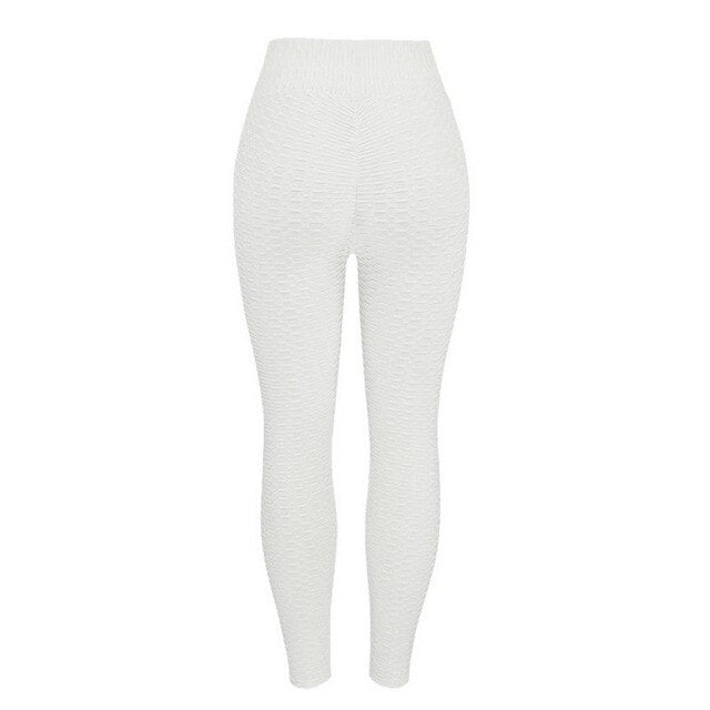10colors Women Yoga Pants White Sport leggings Push Up Tights Gym Exercise High Waist Fitness Running Athletic Trousers
