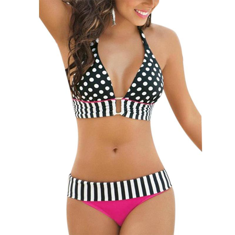 Women Summer Bikinis Push Up Swimming Swimwear Beach Bathing Suits-SWIMWEAR-SheSimplyShops