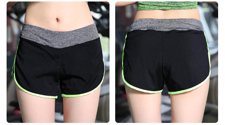 Women yoga shorts outdoor sports running fitness shorts quick dry moisture absorption lined with tank girl gym shorts-ACTIVEWEAR-SheSimplyShops