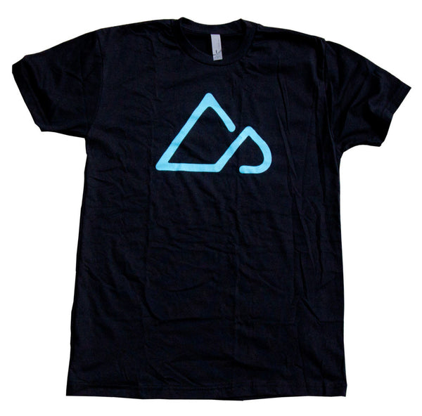 Singletracks Logo T-shirt - Black