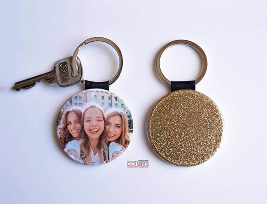 Glitter Keyring-GOTShirts - Personalized Gifts