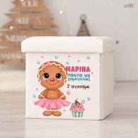 Toy Box Gingerbread Girl-GOTShirts - Personalized Gifts