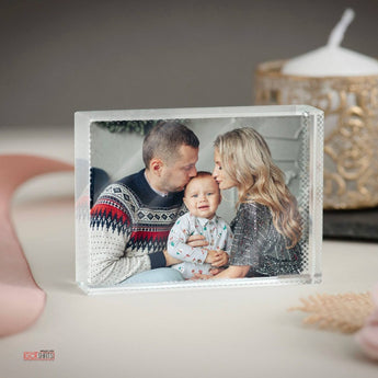 Crystal Photo Block-GOTShirts - Personalized Gifts