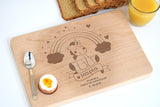 Personalized Breakfast Tray (Laser Engraved) - Δίσκος Πρωινού-GOTShirts - Personalized Gifts