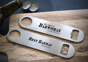 Stainless Steel Bottle Opener-GOTShirts - Personalized Gifts