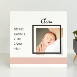 Wooden Frame Tabletop 25x25cm-GOTShirts - Personalized Gifts