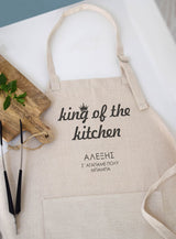 Dad's Cooking Apron-GOTShirts - Personalized Gifts