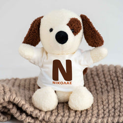 Dog Plush Toy-GOTShirts - Personalized Gifts