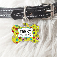 Metallic Dog Tag For Your Pet-GOTShirts - Personalized Gifts