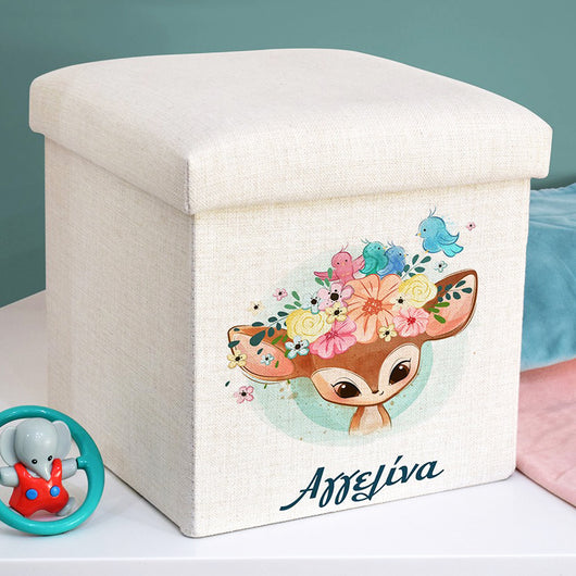 Personalized Toy Box / Stool-GOTShirts - Personalized Gifts