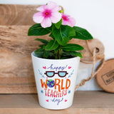 "Flower Pot ""Grow your own""-GOTShirts - Personalized Gifts"