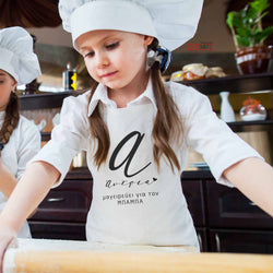 Children's White Apron-GOTShirts - Personalized Gifts