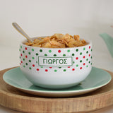 Personalized Ceramic Bowl-GOTShirts - Personalized Gifts