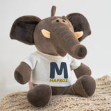 Elephant Plush Toy-GOTShirts - Personalized Gifts