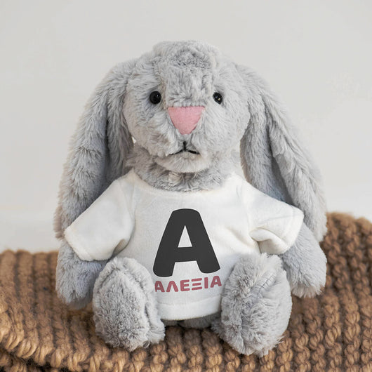 Bunny Plush Toy-GOTShirts - Personalized Gifts