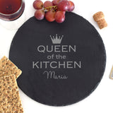 Rock cut Round Platter (Engraved)-GOTShirts - Personalized Gifts