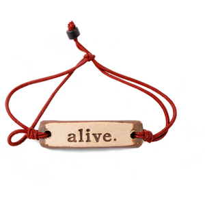 Be Robin Hood Alive MudLove Charity Clay Bracelet