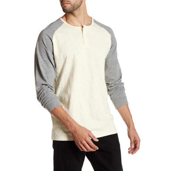Men's Henley Long Sleeve