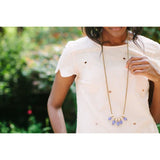 Lavender Burst Necklace