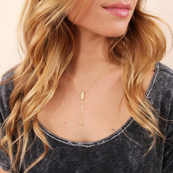 The Ayla Lariat Necklace