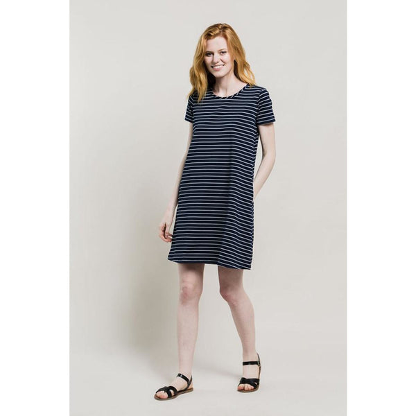 Women Hyde Stripe Swing Dress