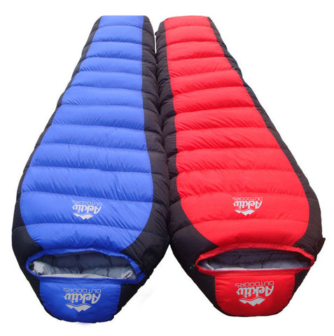 Double Mummy Sleeping Bags
