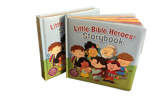 Little Bible Heroes - Hardcover Storybook