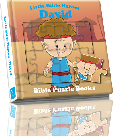 Little Bible Heroes - Puzzle David