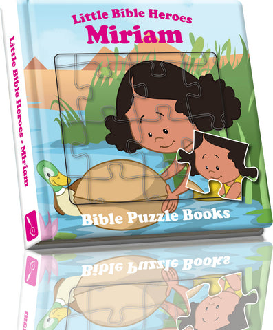 Little Bible Heroes - Puzzle Miriam
