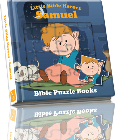 Little Bible Heroes - Puzzle Samuel