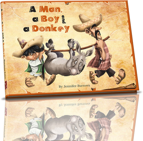 Timeless Tales - A Man a Boy and a Donkey