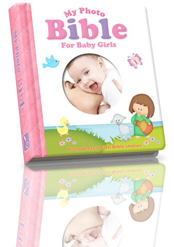 My Photo Baby Bible (for Girls)