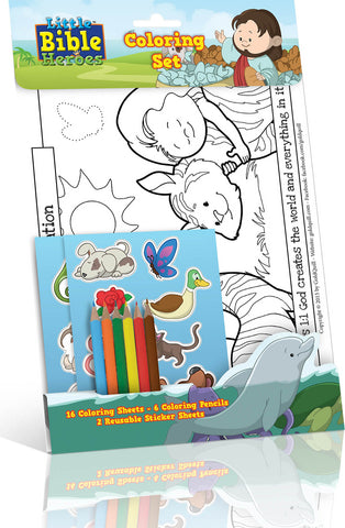 Little Bible Heroes - Coloring Book