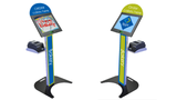 Podium Kiosk Stand with Keyboard / Trackball