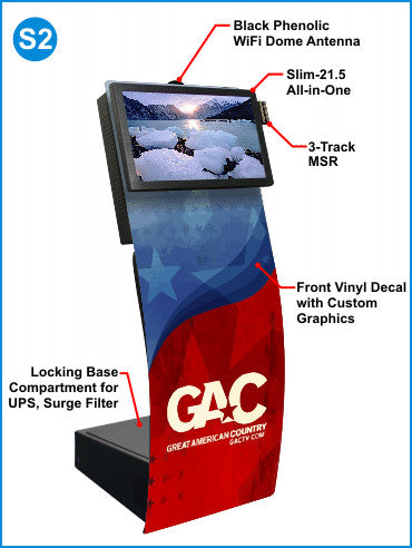 Touch Screen PC Kiosks