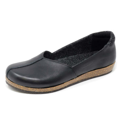 Women's Liesl Skimmer - Leather with Felt Lining
