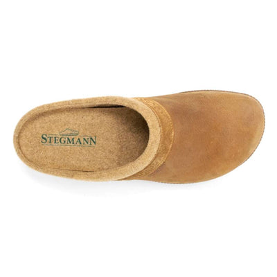 Men's Halstatt Wool Lined Leather Clog