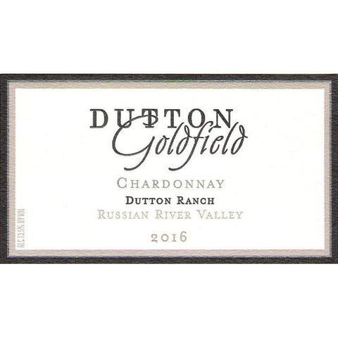 Dutton-Goldfield Dutton Ranch Russian River Valley Chardonnay 2016