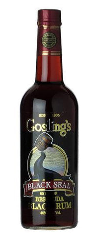 Goslings Black Seal Rum Bermuda (750ml)
