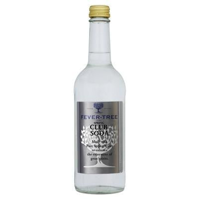 Fever Tree Club Soda (500ml)