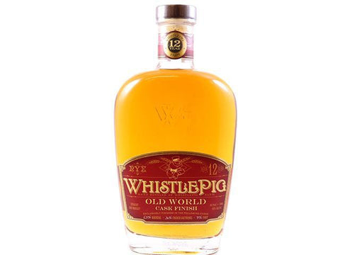 Whistle Pig Old World 12 Year Straight Rye Whiskey (750ml)