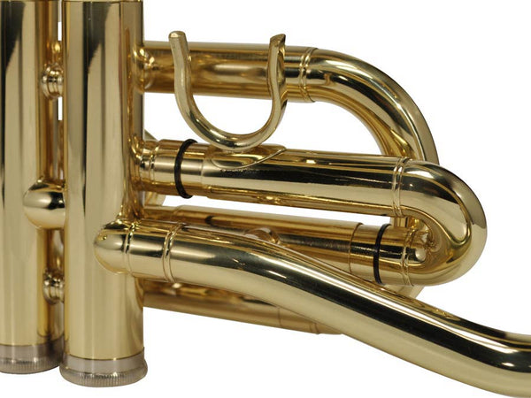 cornet, monel ventielen, messing lak, incl. softcase