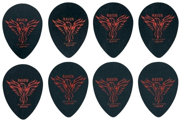 Plectrum Black Raven