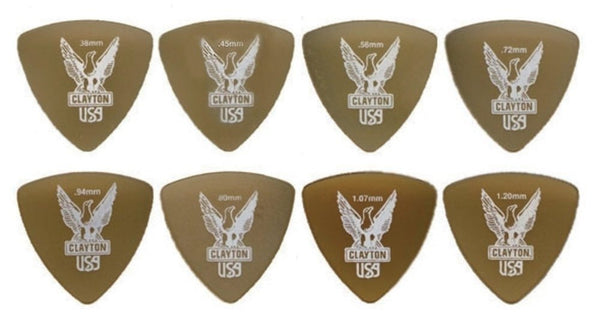 Plectrum Ultem Gold