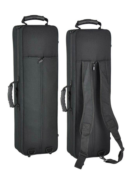 sopraansax, Pisoni polsters, 1-piece body, goudlak, incl. softcase